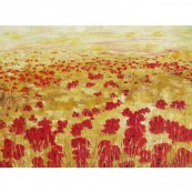 Barley Field with Poppies Thumbnail